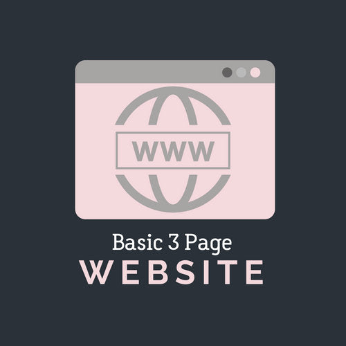 Basic 3 Page Website
