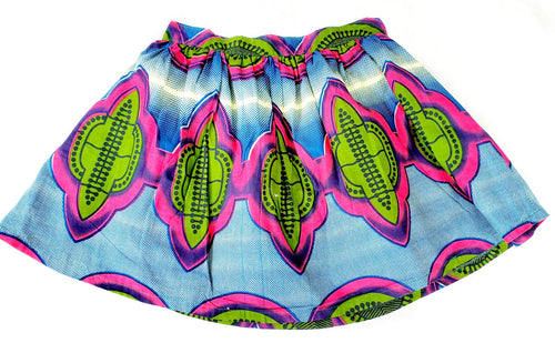 Blue, Green and Pink Skirt