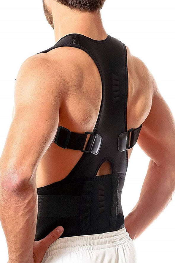 MAGNETIC THERAPY ADJUSTABLE POSTURE CORRECTOR- BACK PAIN RELIEF