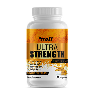 Ultra Strength Turmeric Platinum+