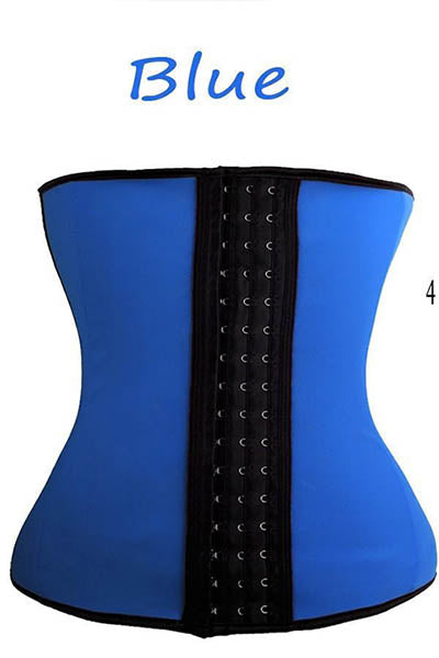 Fitolix Gym Waist Trainer-Blue
