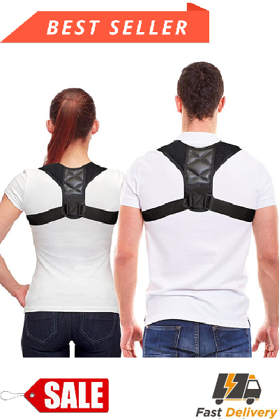 Deluxe Adjustable Clavicle And Shoulder Posture Corrector Brace