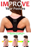 Fitolix Posture Corrector Back Brace  Clavicle Shoulder Support