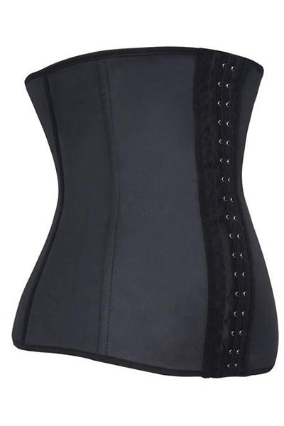 BLACK LATEX WAIST TRAINER