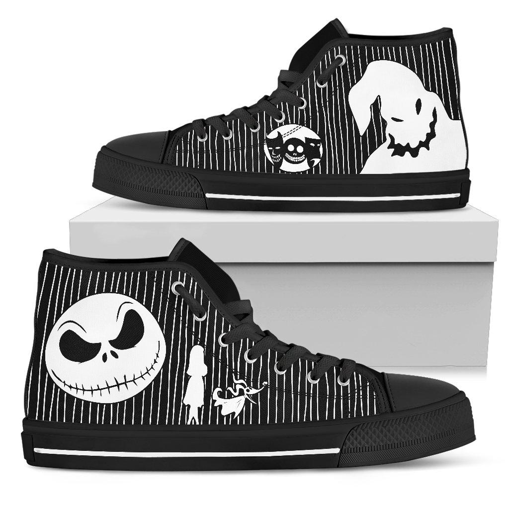 Nightmare Before Christmas Shoes, Mens High Tops, V1