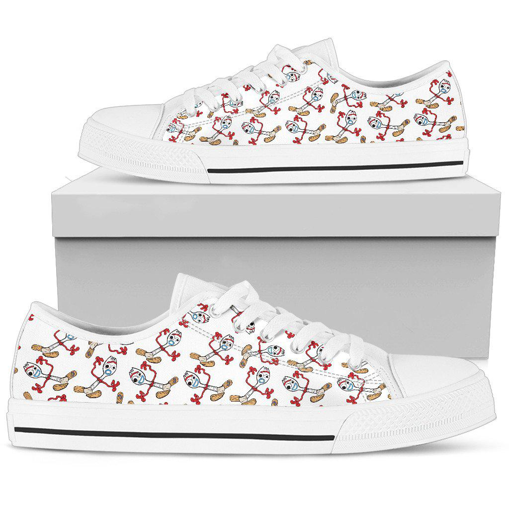 Forky Canvas Low Tops - Standard