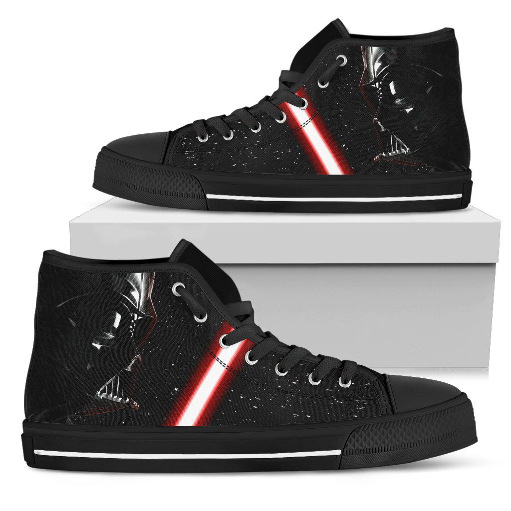 Darth Vader Canvas High Tops, Men's