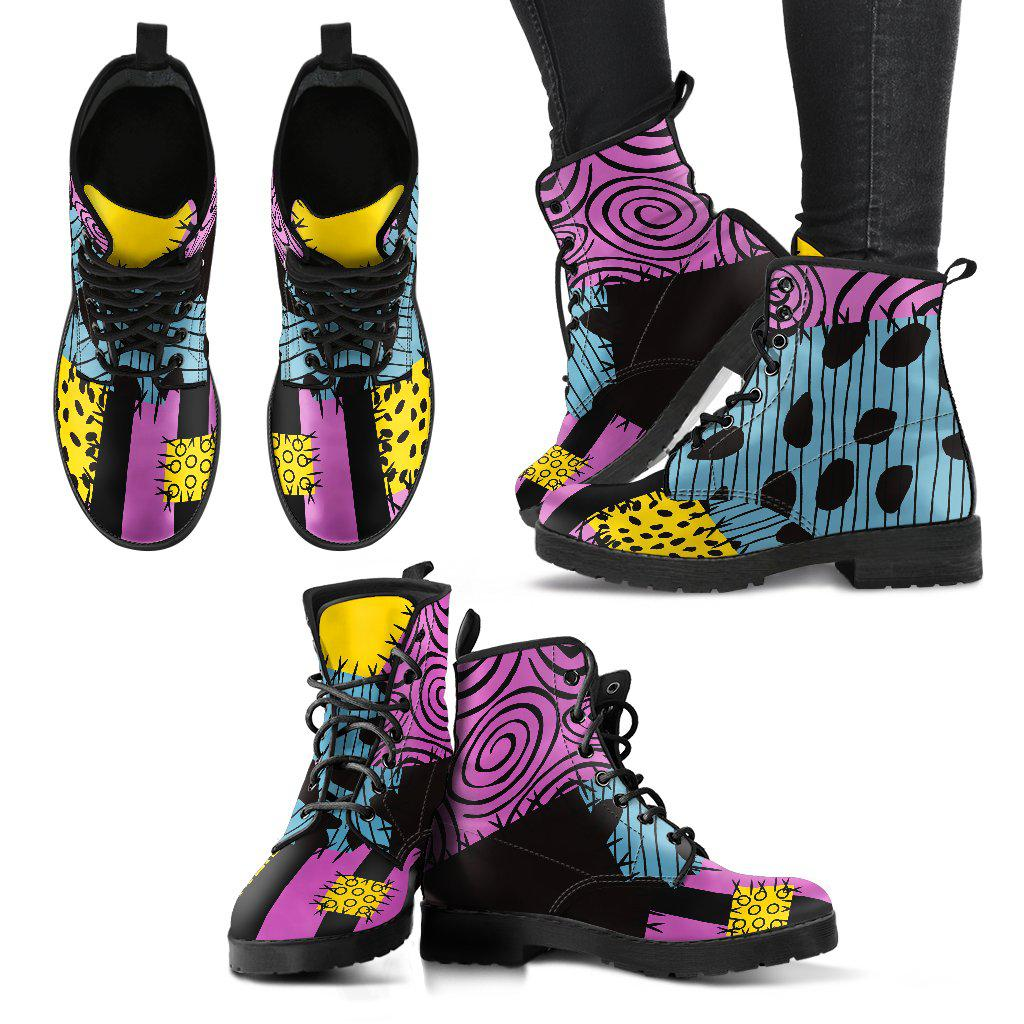 Nightmare Before Christmas, Sally Faux Leather Boots