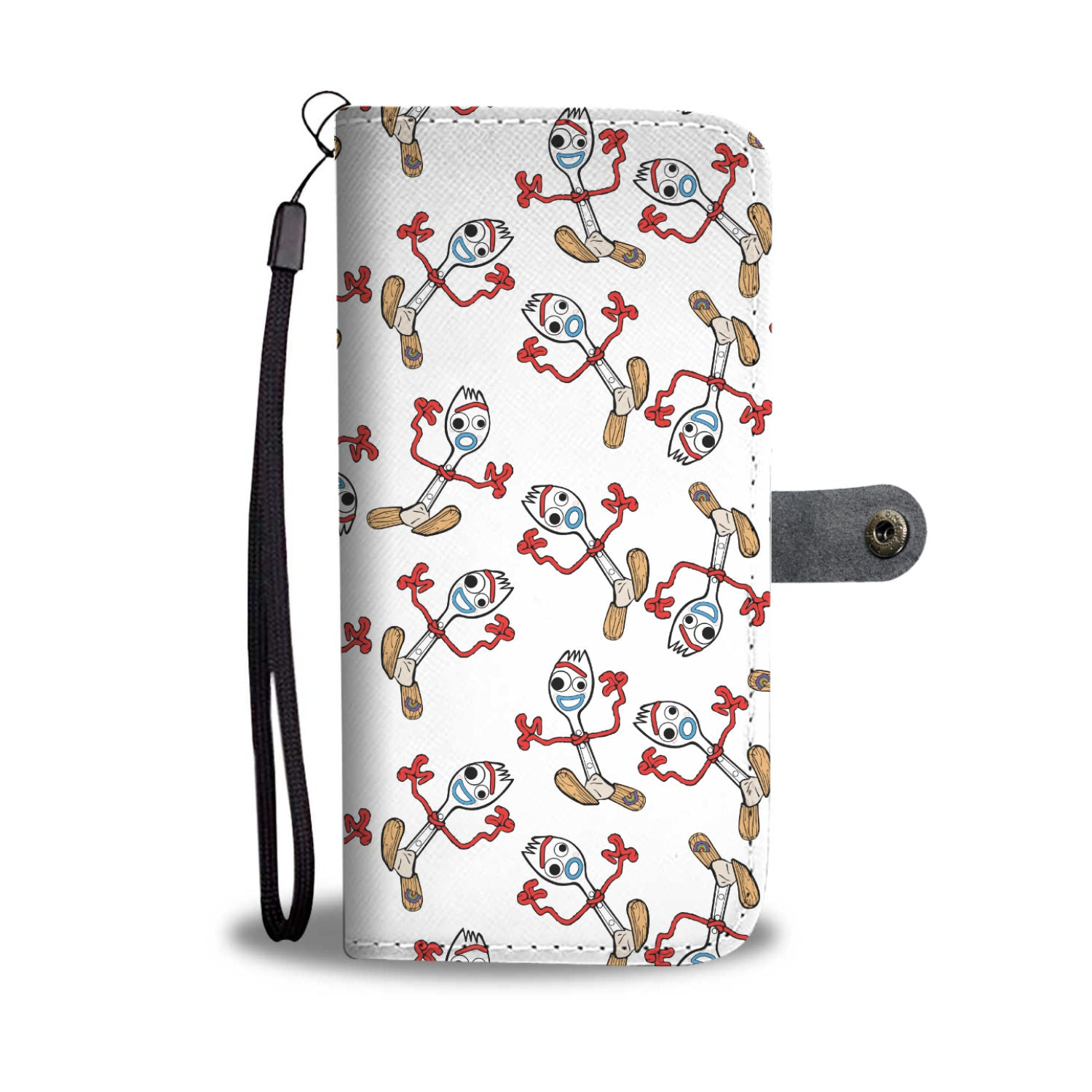 Forky Phone Wallet Case