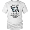 I Survived the Great Toilet Paper Crisis of 2020, Unisex Tee