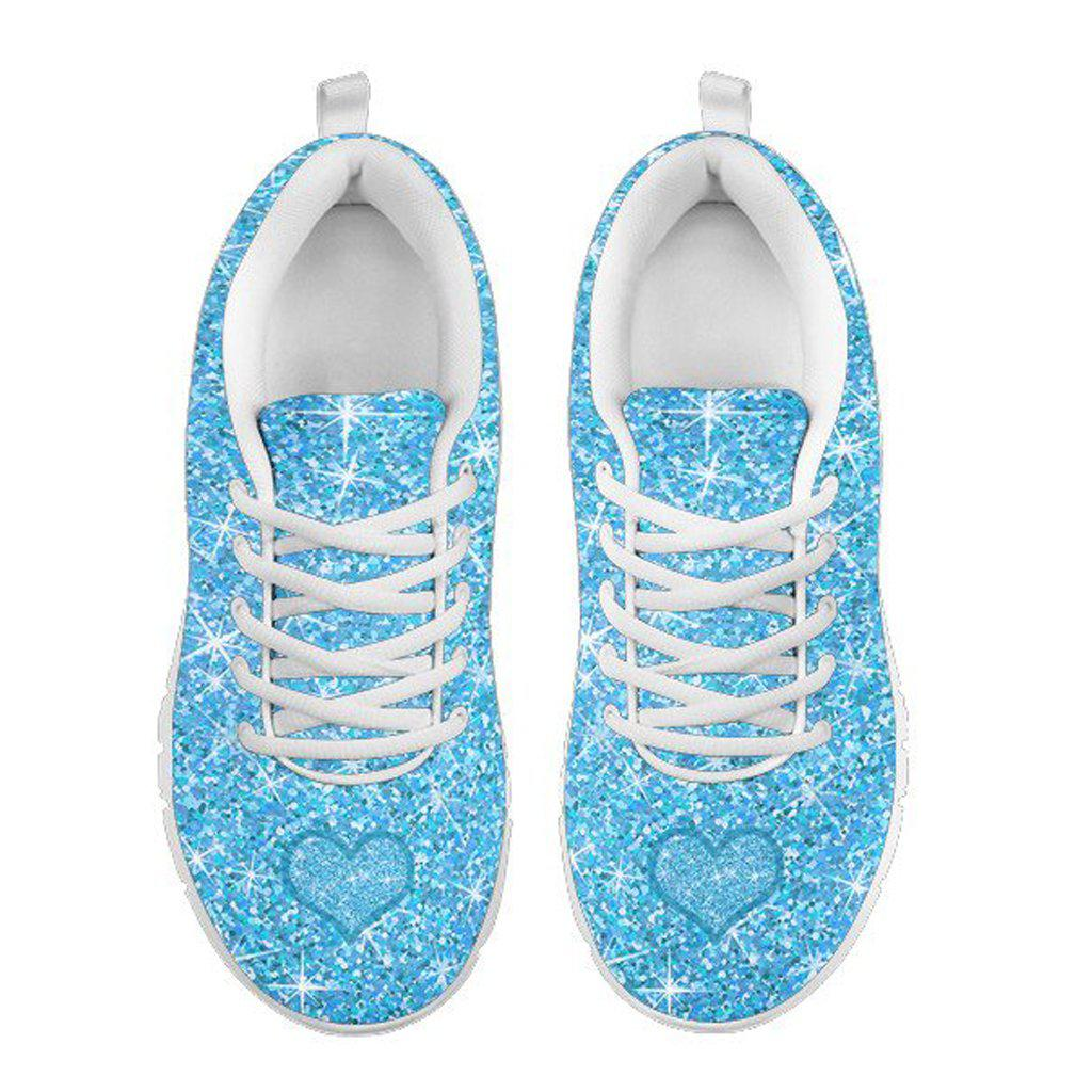 Cinderella Tennis Shoes - Adult Women's - Heart