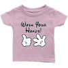 Wash Your Hands, Mickey Gloves, Infant T-Shirt, TL
