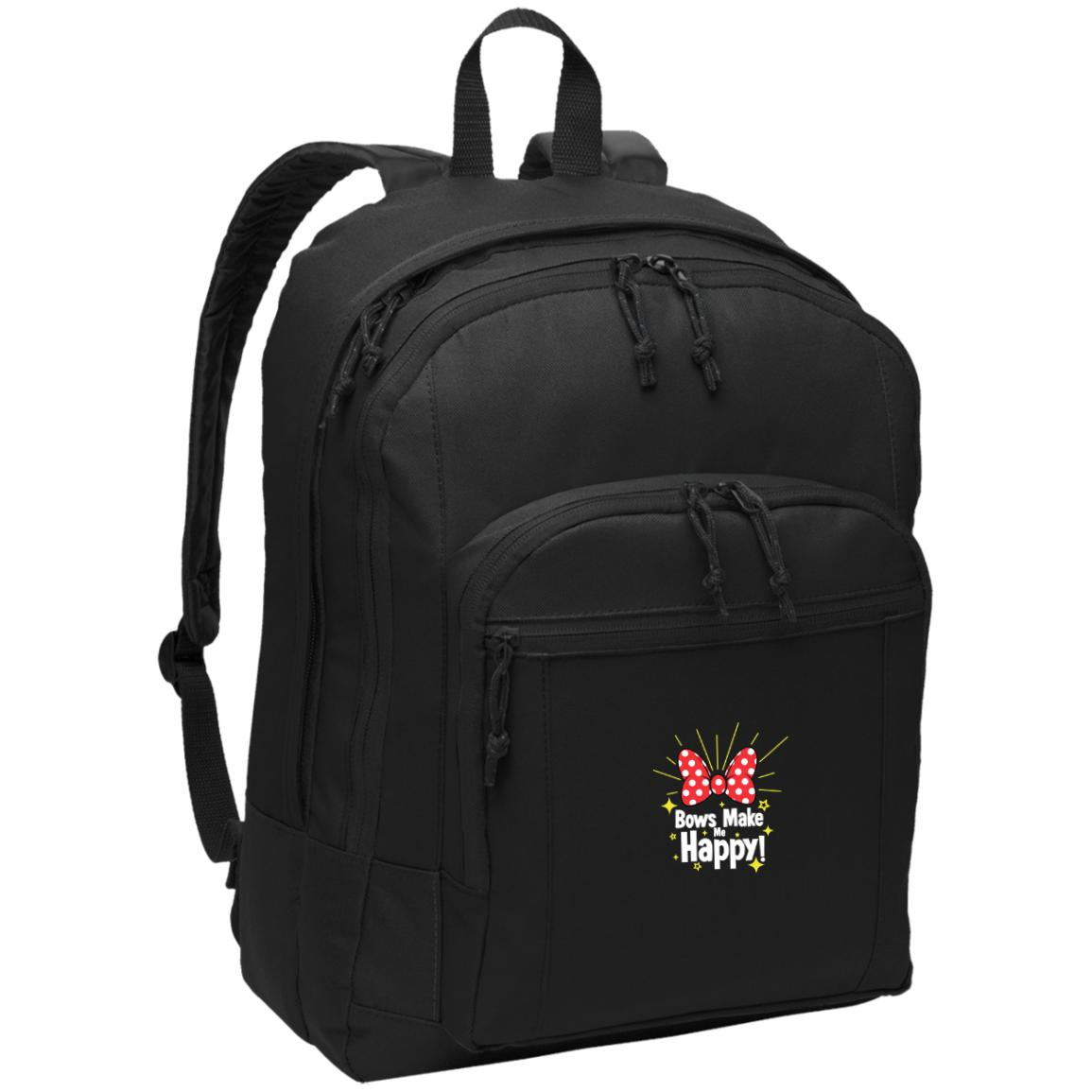 Bows Make Me Happy - Port Authority Basic Backpack