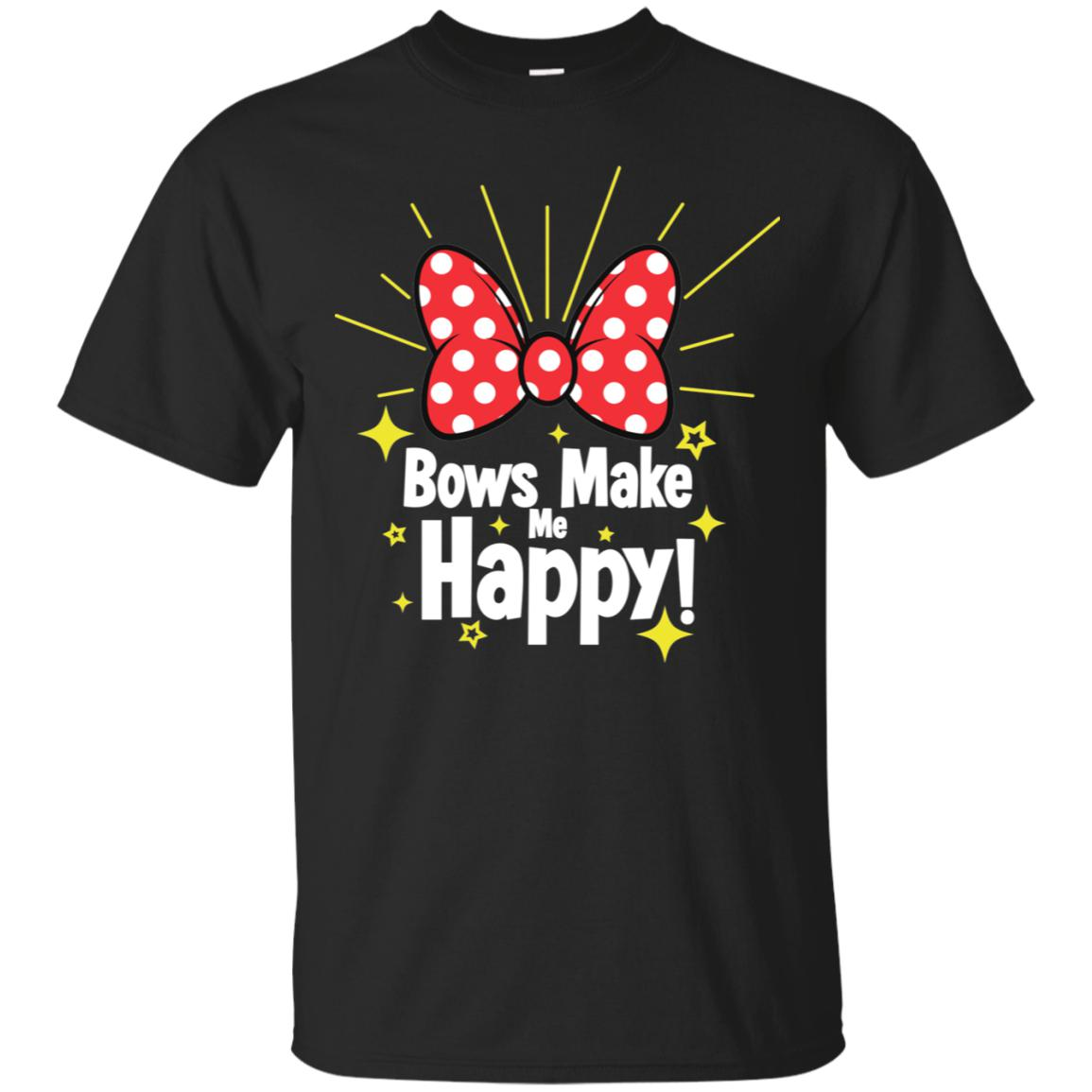 Bows Make Me Happy - Gildan Ultra Cotton T-Shirt