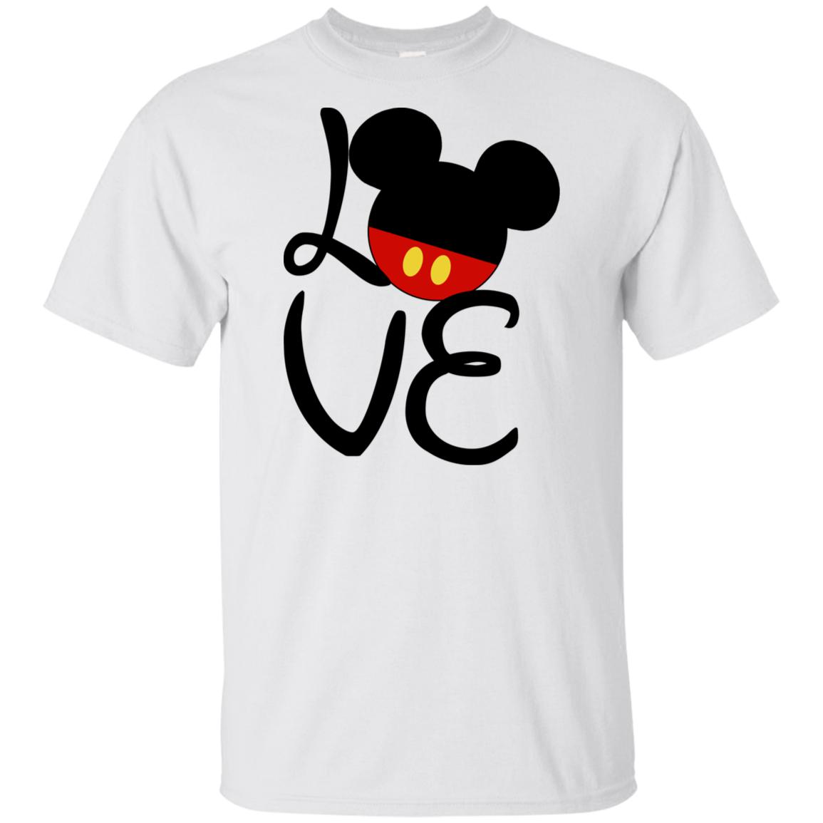 Love Mickey Youth Ultra Cotton T-Shirt