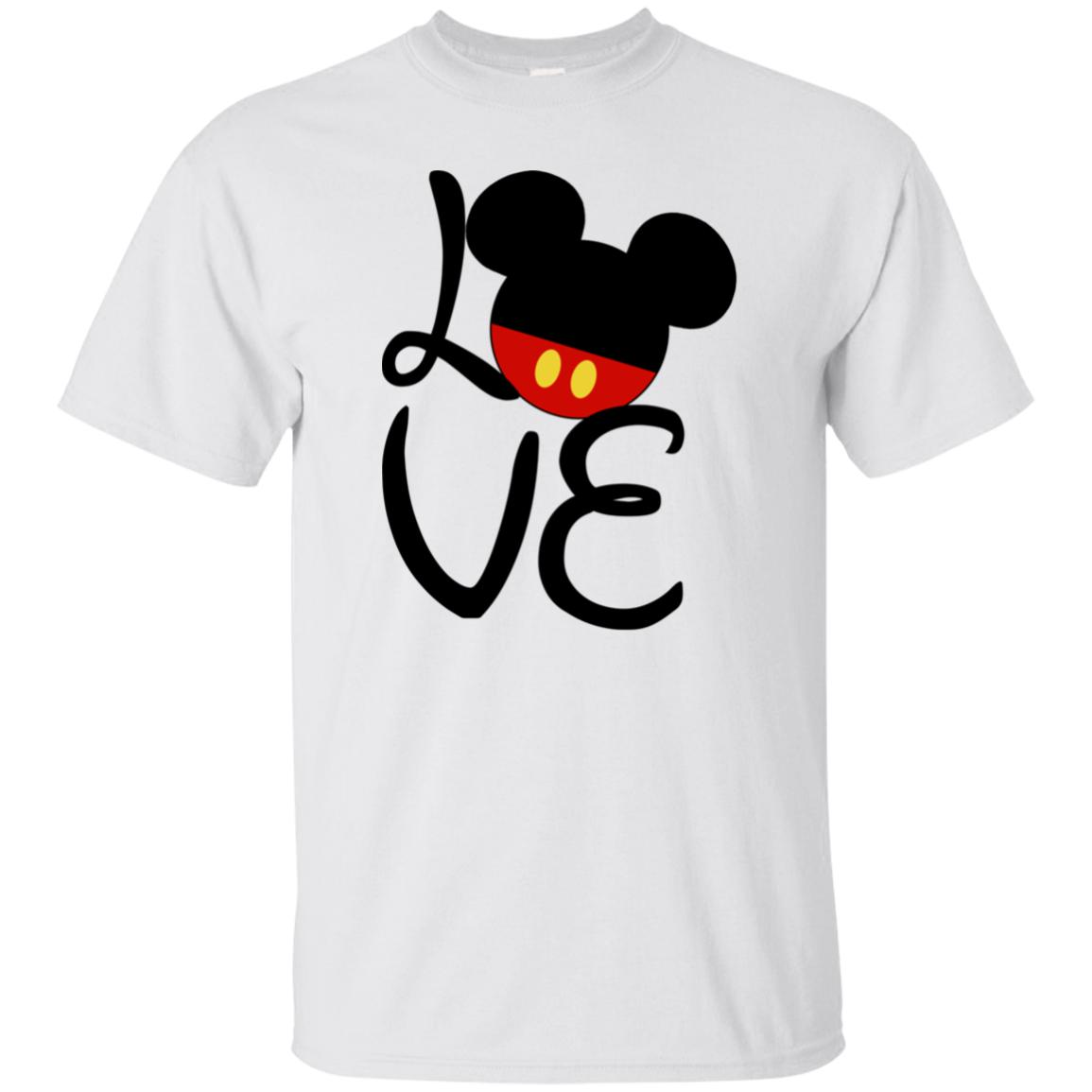 Love Mickey Ultra Cotton T-Shirt