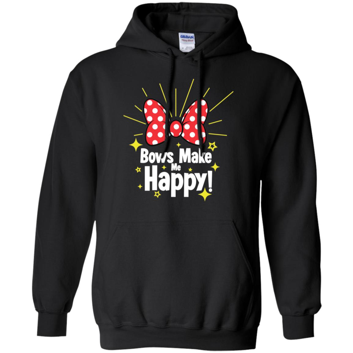 Bows Make Me Happy - Gildan Pullover Hoodie 8 oz.