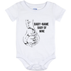 Personalized Dumbo Baby Onsie - Baby of Mine