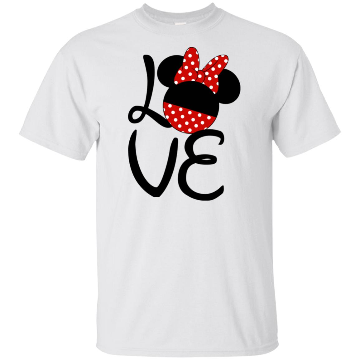 Love Minnie Youth Ultra Cotton T-Shirt