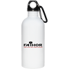 Fathor Like a Dad Only Much Cooler - 20 oz. Stainless Steel Water Bottle