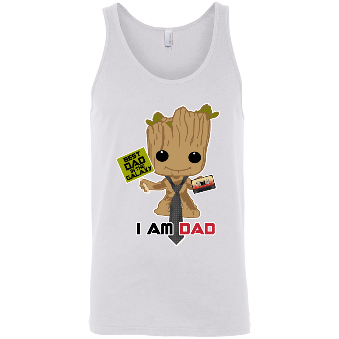 I Am Dad - Bella + Canvas Tank