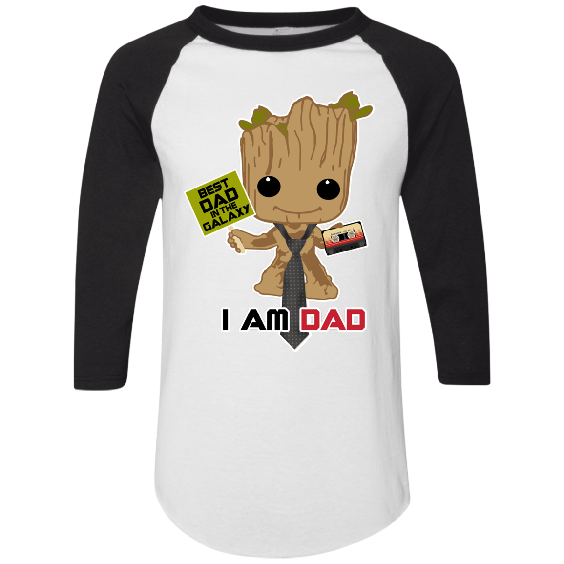 I Am Dad - Raglan Jersey