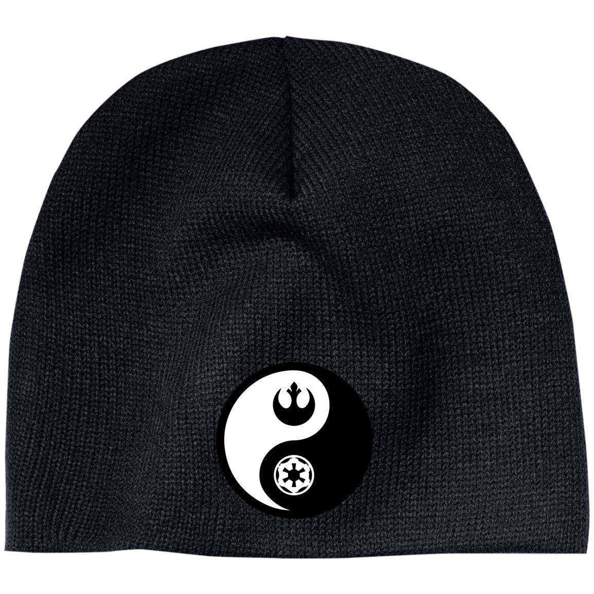 Rebel & Empire Yin Yang -  Embroidered Beanie