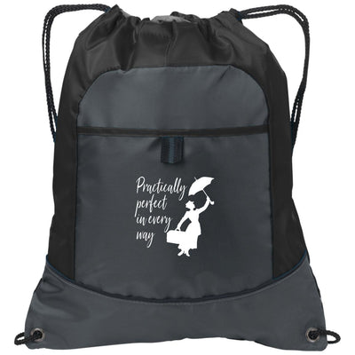 Mary Poppins Practically Perfect - Port Authority Pocket Cinch Pack