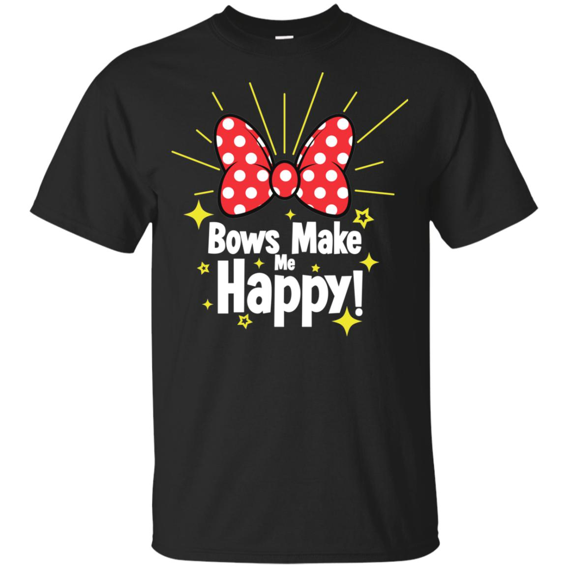 Bows Make Me Happy - Gildan Youth Ultra Cotton T-Shirt