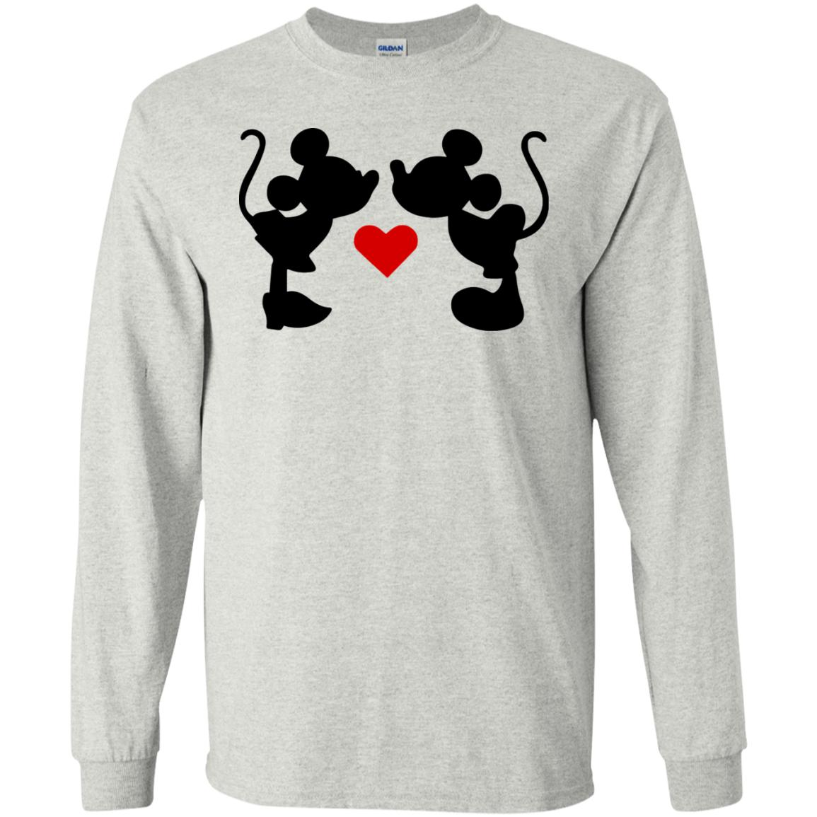 Mickey & Minnie Kissing Ultra Cotton T-Shirt