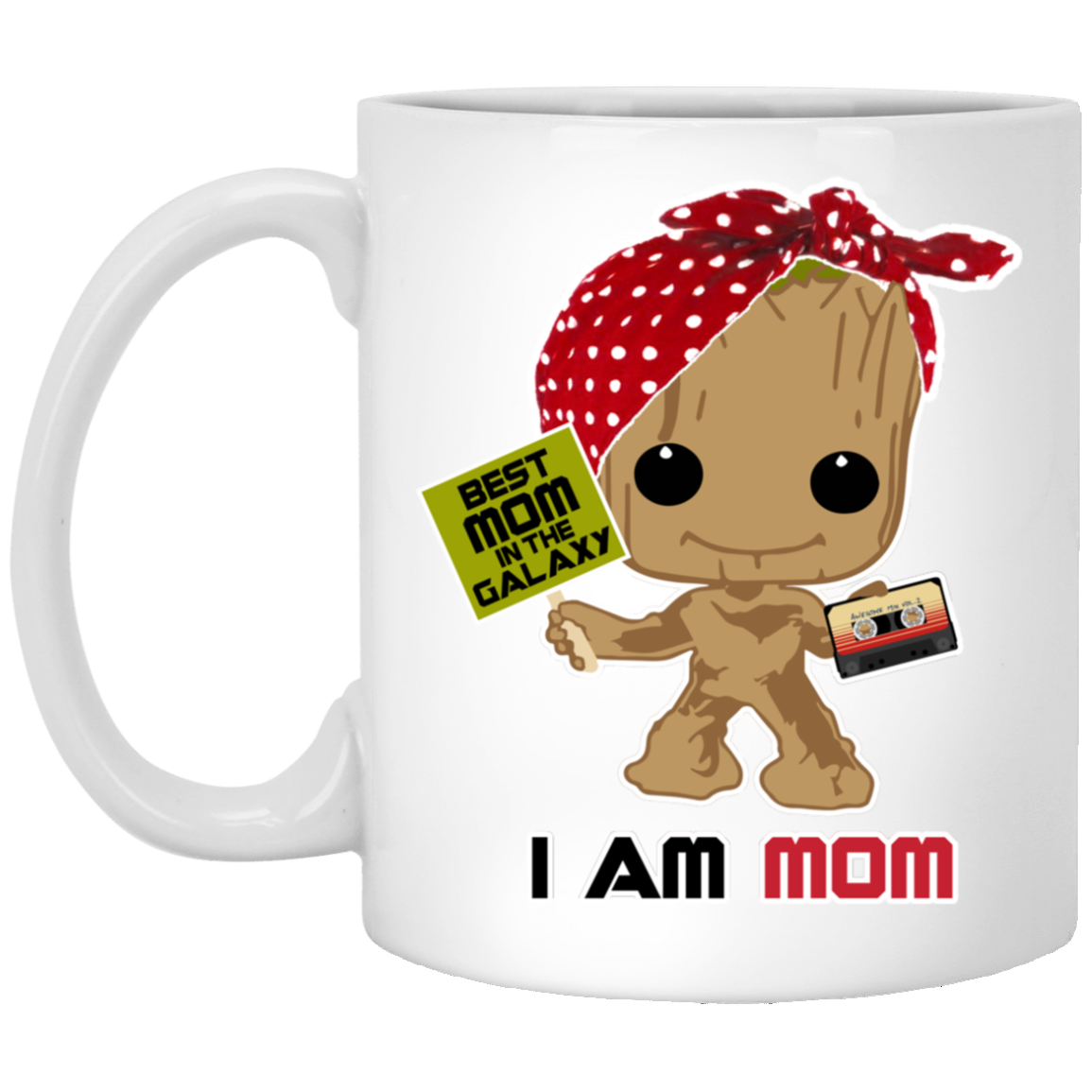 I Am Mom - White Mug