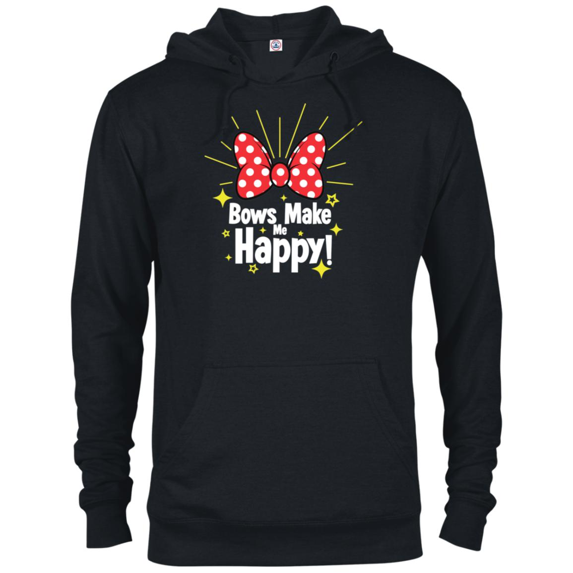 Bows Make Me Happy - Delta French Terry Hoodie
