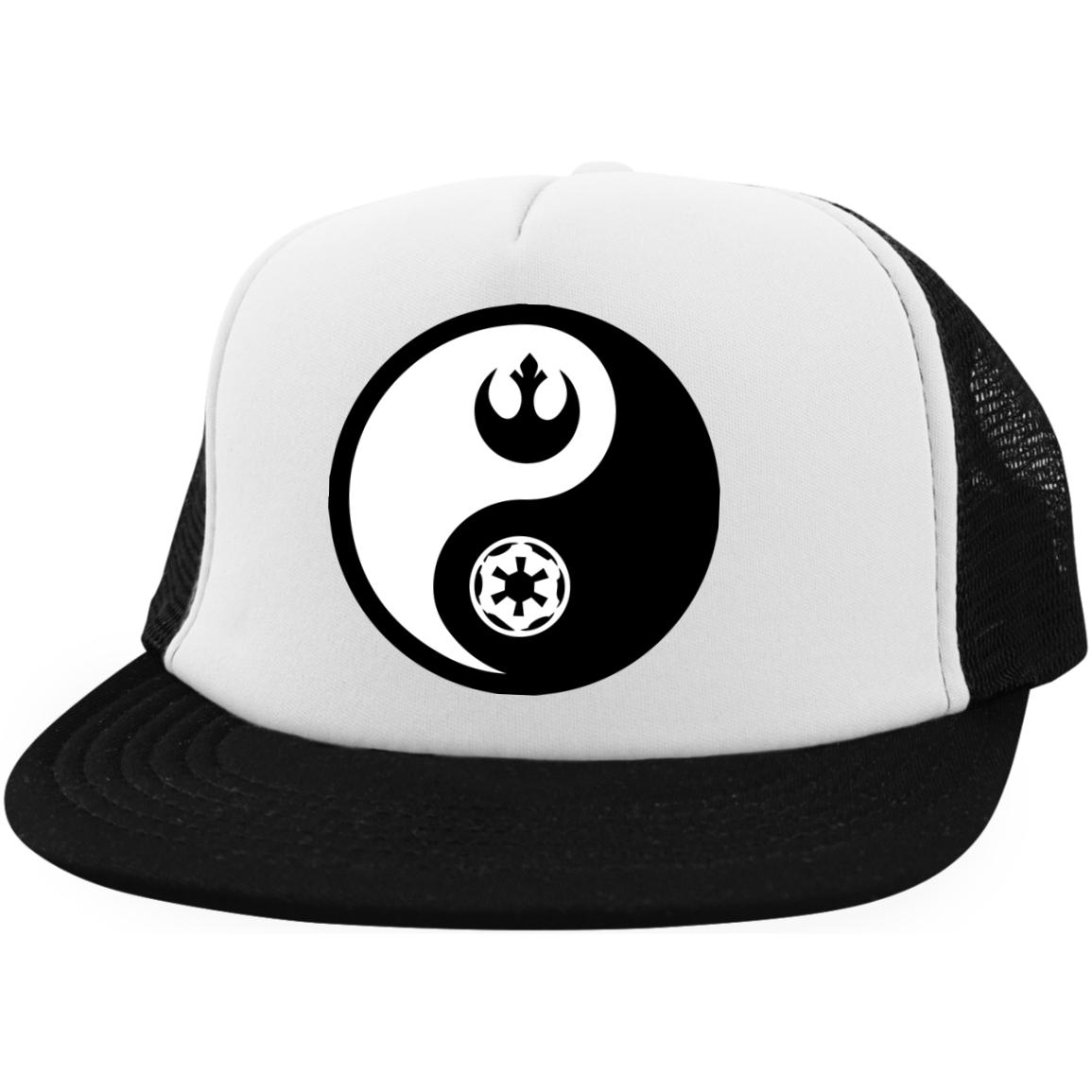 Rebel & Empire Yin Yang - Embroidered Trucker Hat