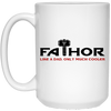 Fathor Like a Dad Only Much Cooler - White Mug