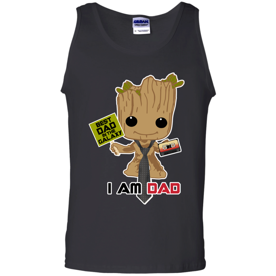 I Am Dad - Tank Top