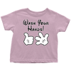 Wash Your Hands, Mickey Gloves, Toddler T-Shirt, TL