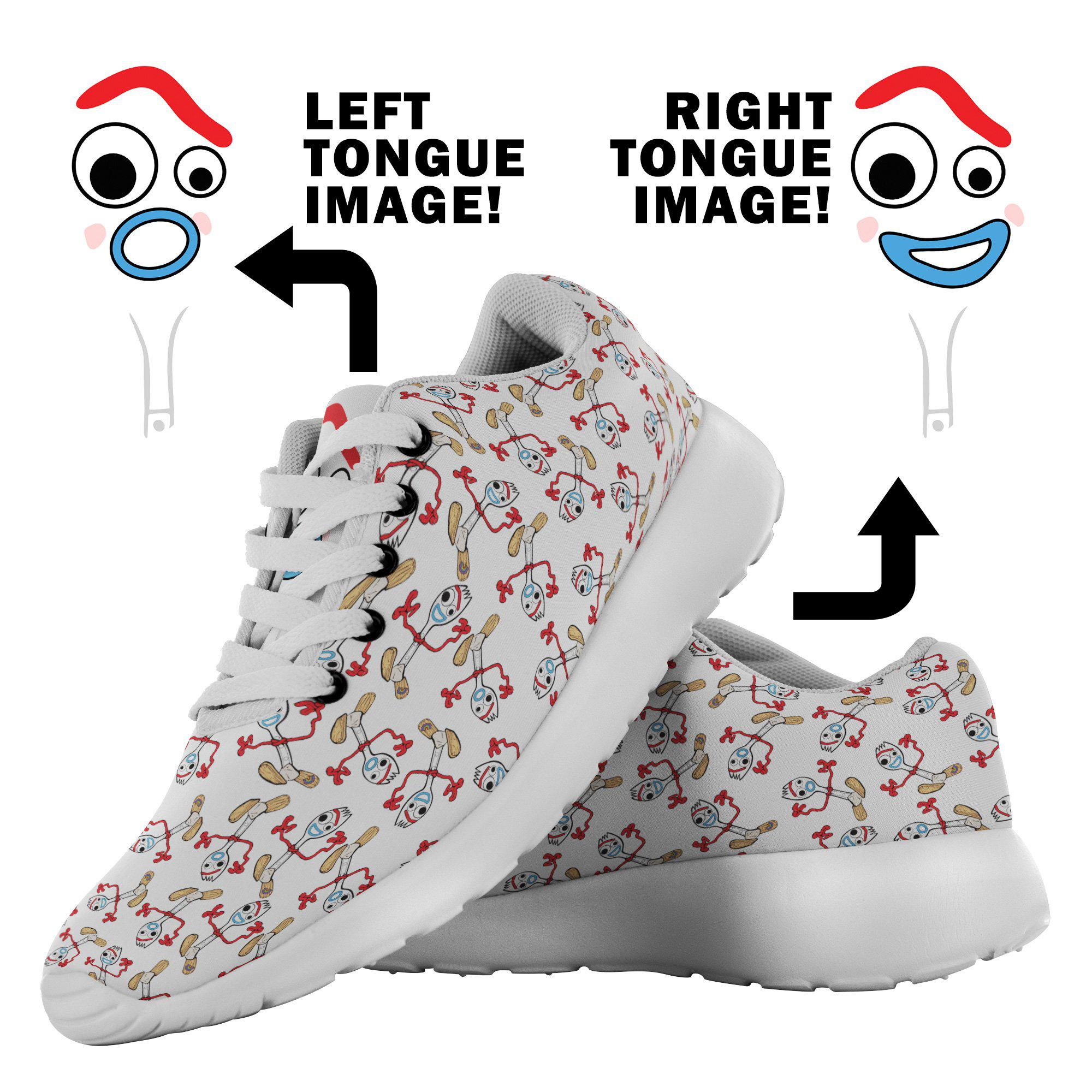 Forky Shoes - Forky Costume Sneakers