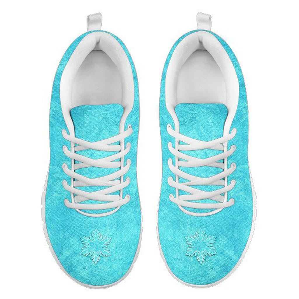 4bd437491415 Princess Elsa Tennis Shoes - Frozen Adult Women s
