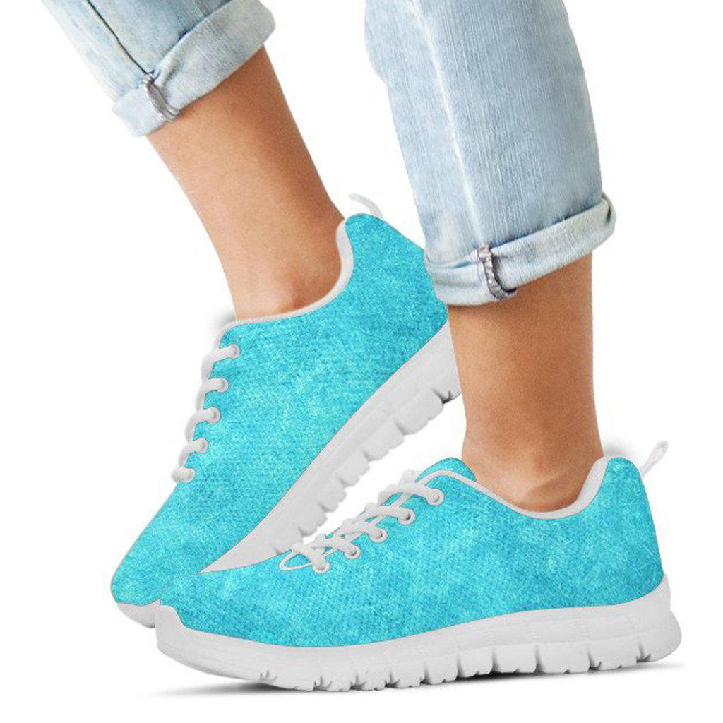 Princess Elsa Tennis Shoes - Frozen Youth Girls