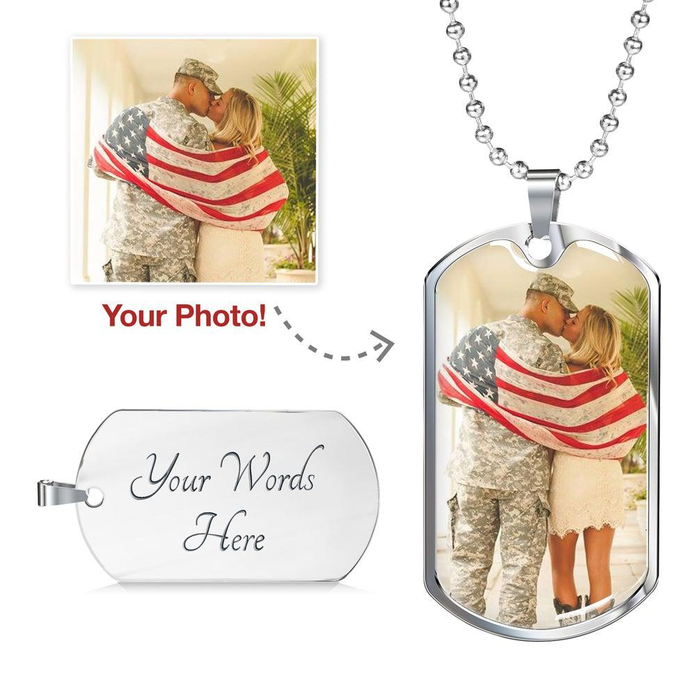 Personalized Dog Tag - Upload Your Photo