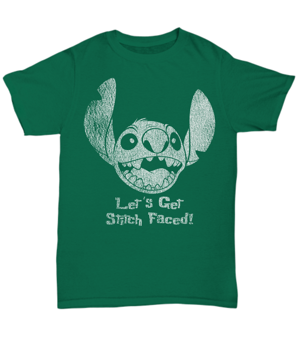 Let's Get Stitch Faced - T-Shirt