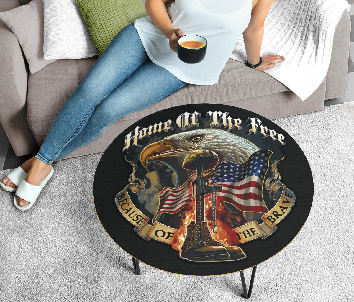 Round Table - Home of the Free Because of the Brave