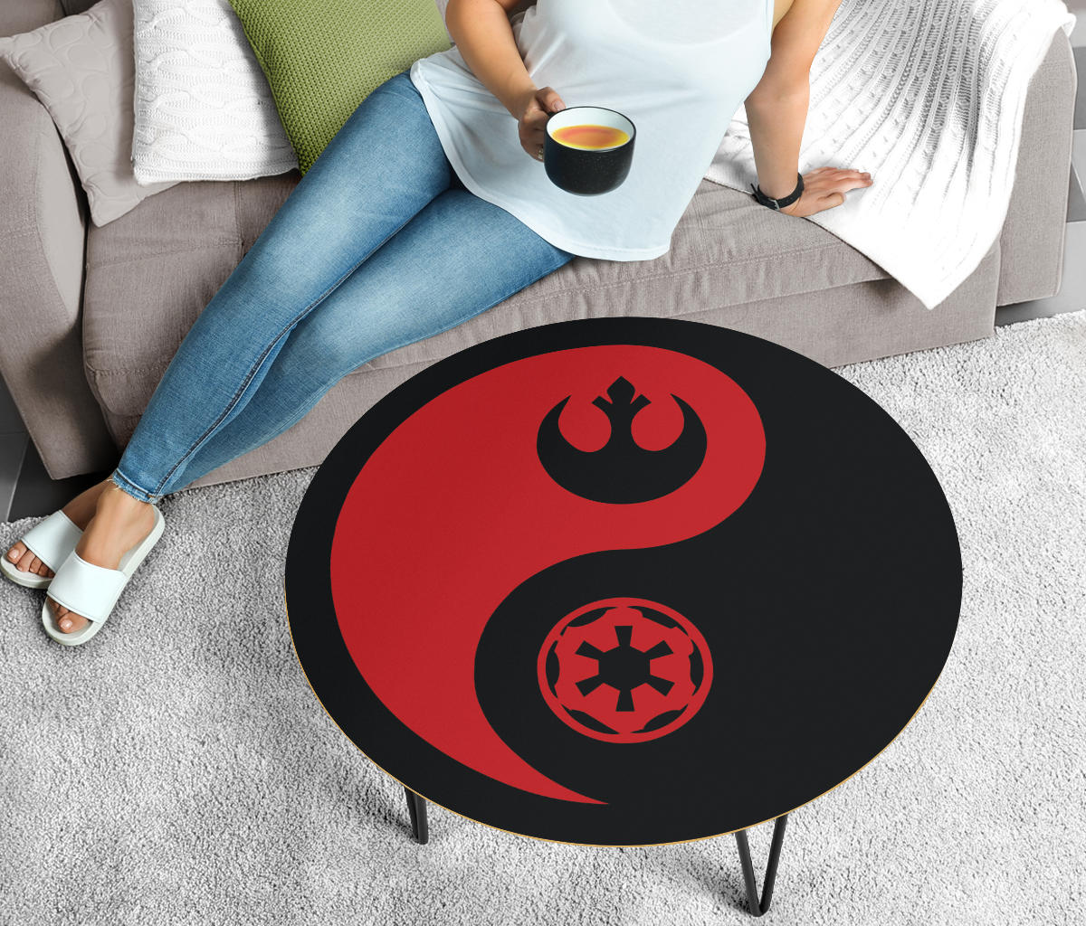 Star Wars Coffee Table - Yin Yang - Red