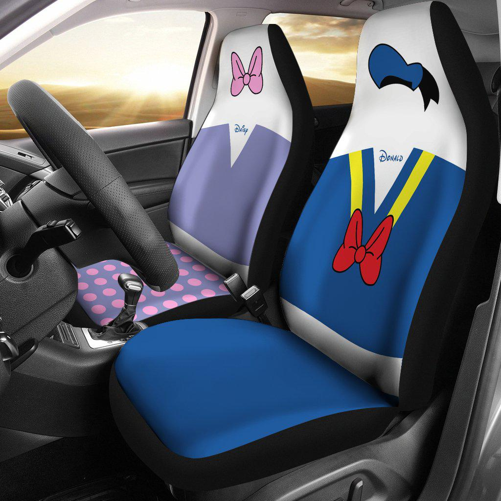 Donald & Daisy Car Seat Cover (Set of 2)