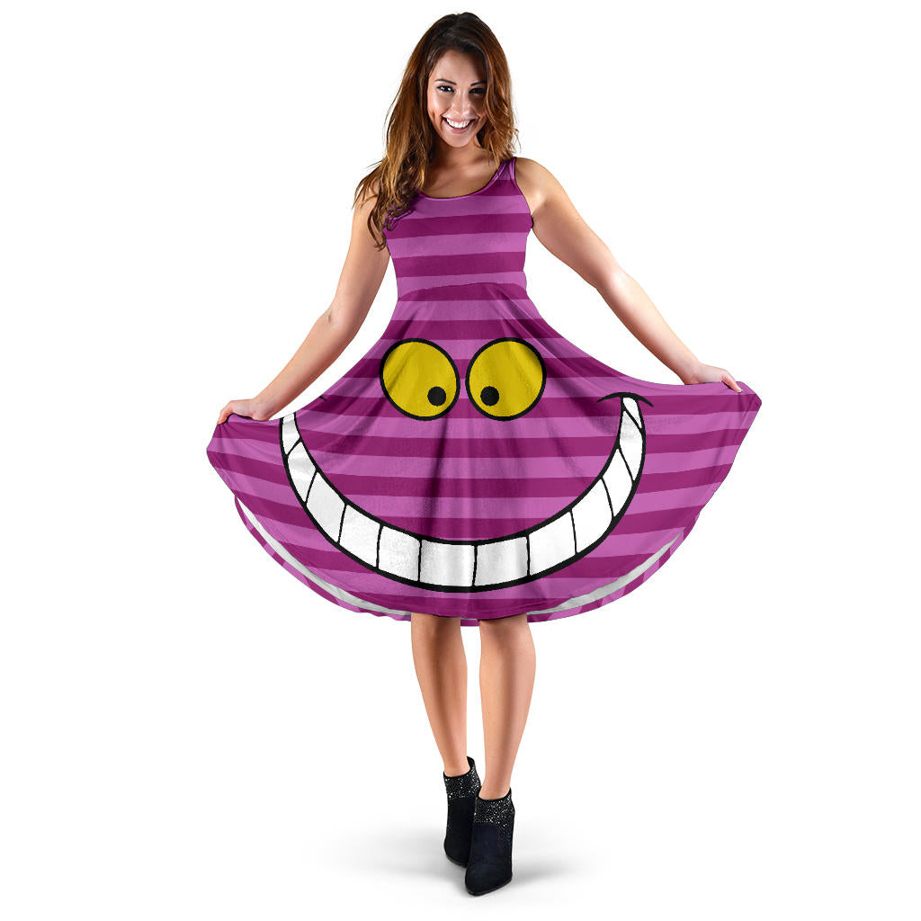 Cheshire Cat Midi Dress