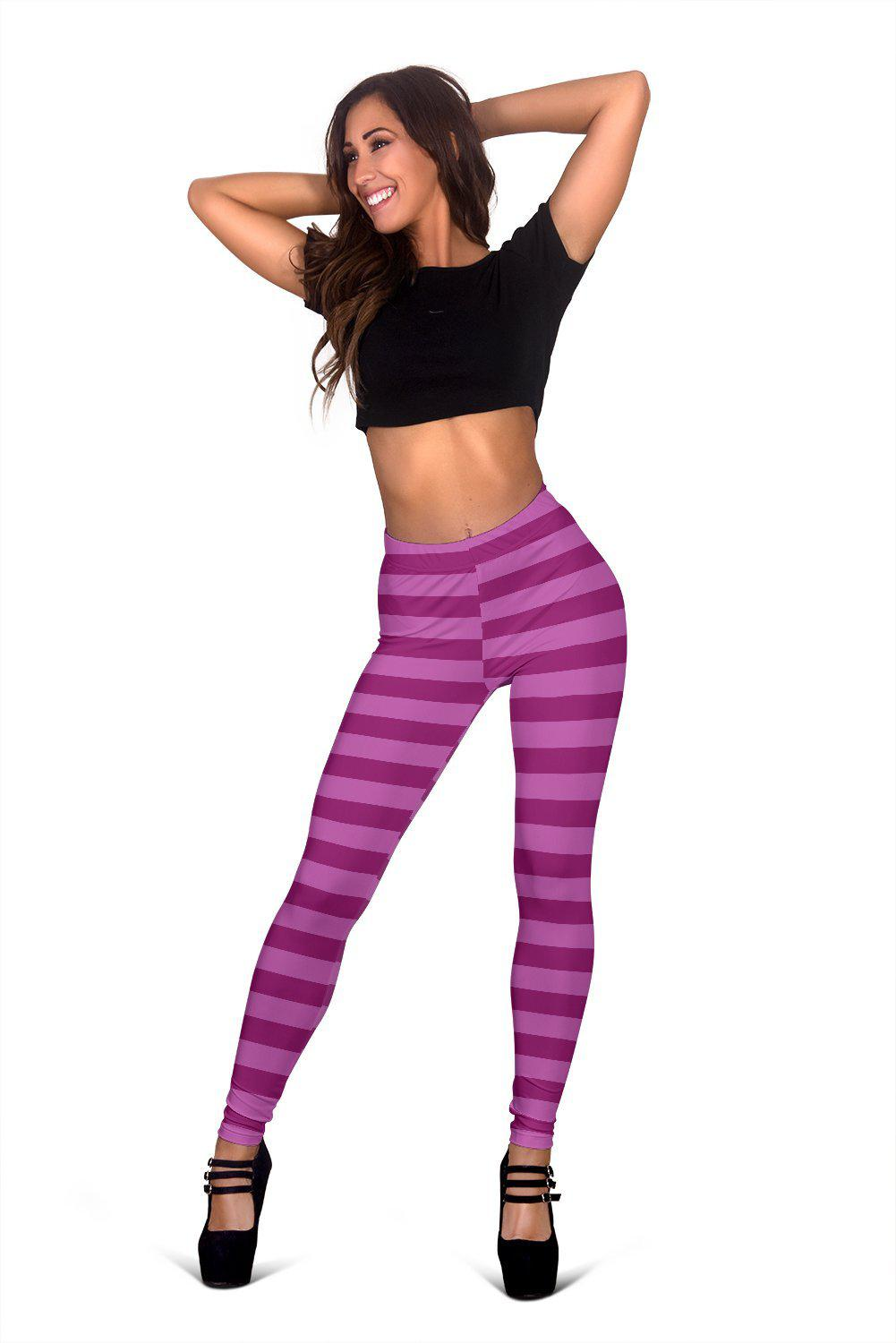 Cheshire Cat, All Over Print Leggings