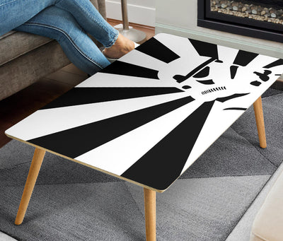 Star Wars Coffee Table - Storm Trooper - Modern Wood Rectangle Table