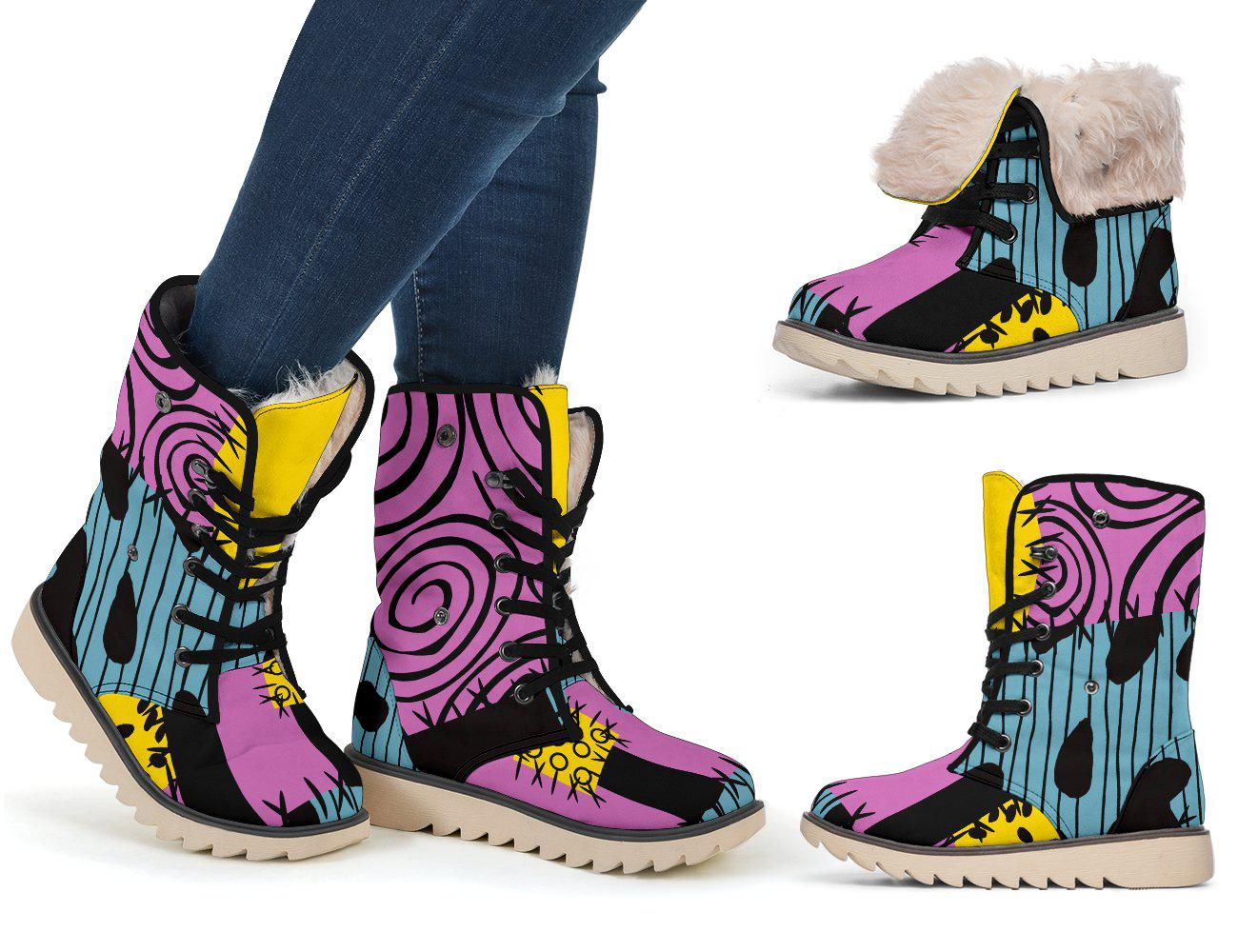 Nightmare Before Christmas, Sally Polar Boots