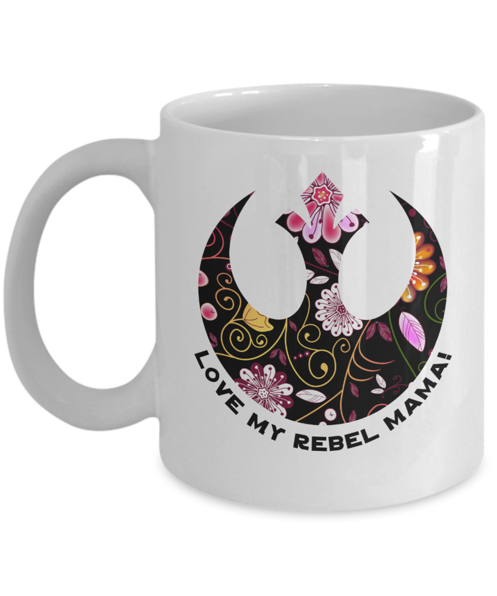 Love My Rebel Mama Mug