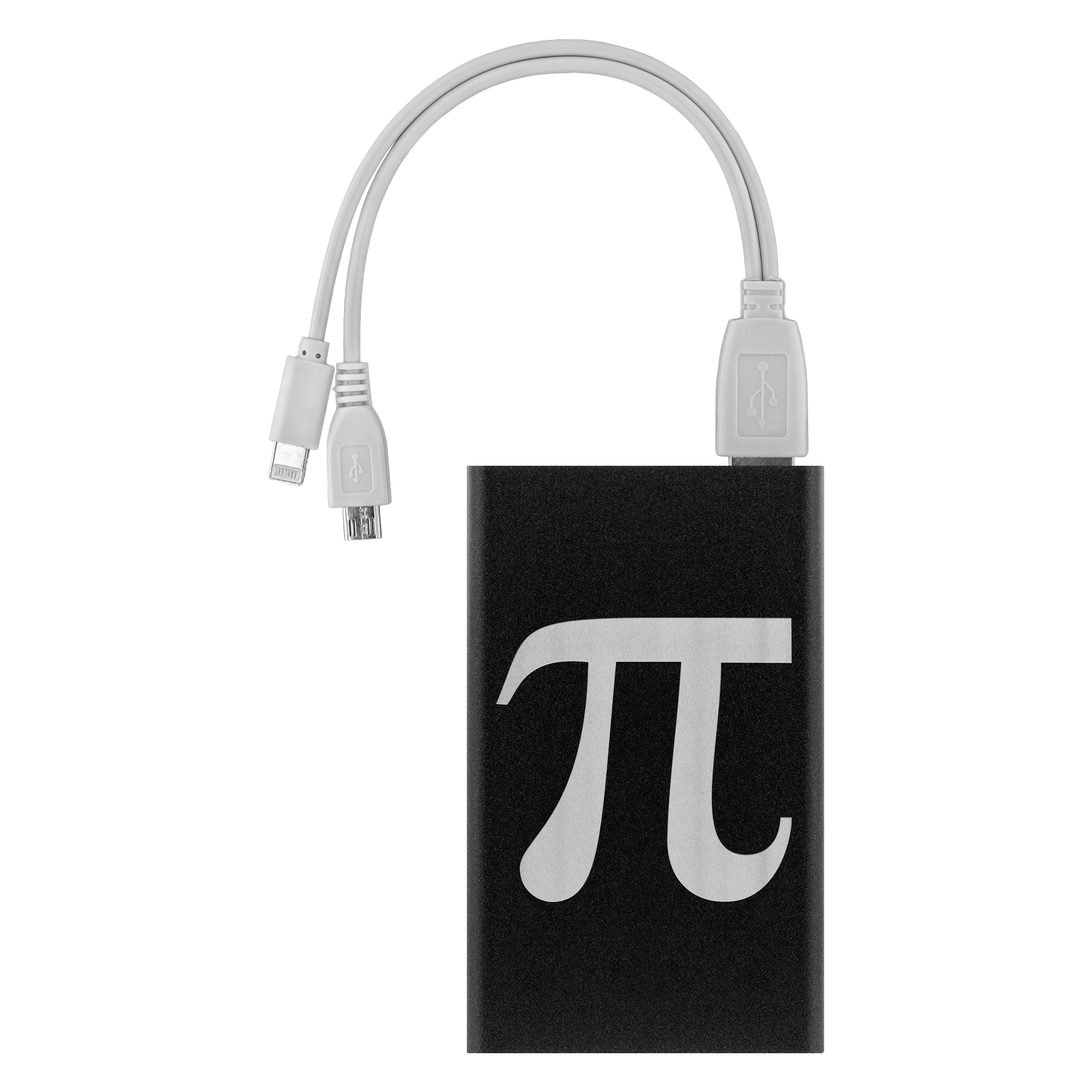 Pi  Power Bank - Laser Etched Portable Charger 3